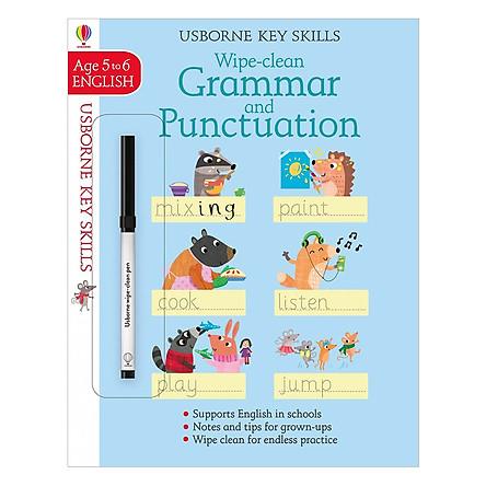 Usborne Usborne Key Skills Wipe-clean Grammar & Punctuation 5-6