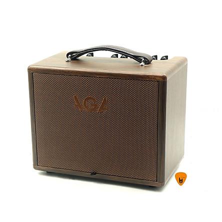 Ampli AGA SC-40-III Cho Đàn Guitar & Nhạc cụ mộc Acoustic (công suất 40W) - Bộ khuyếch đại âm thanh Amplifier Amply SC40 - Kèm Móng Gẩy DreamMaker