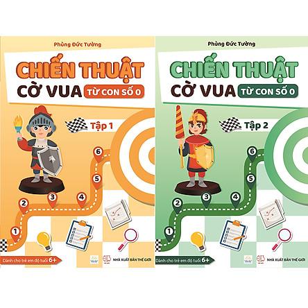 Combo 2 cuốn Chiến thuật cờ vua từ con số 0 - Tập 1 và Tập 2