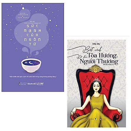 Combo 2 cuốn: Biết Cách Tỏa Hương, Để Được Người Thương + Sức Mạnh Của Ngôn Từ-Cuốn sách yêu thích của V - thành viên nhóm nhạc nổi tiếng toàn cầu BTS.
