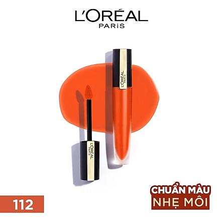 Son kem lì nhẹ môi cao cấp Rouge Signature L'Oreal Paris 7ml