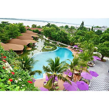 Combo Cần Thơ 3N2Đ: Resort Cồn Khương 4* + Xe Đưa Đón Sân Bay Cần Thơ - Tặng Tour Chợ Nổi