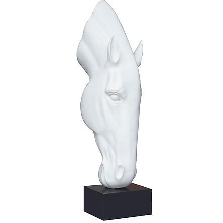 Decor Để Bàn - Tượng Đầu Ngựa Nghệ Thuật  DH-CYA026