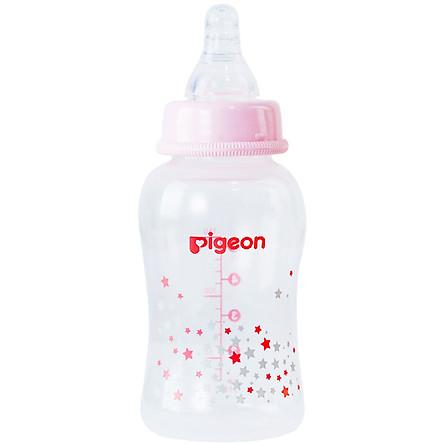 Bình sữa cổ hẹp PP Streamline họa tiết Pigeon