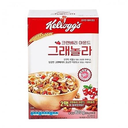 Kellogg's Cranberry Almond Granola 410g x 2