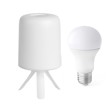 Xiaomi Youpin ZhiRui Bedside Lamp LED Light E27 Bulb RGB Colorful Desktop Light Atmosphere Light Working With Mijia APP