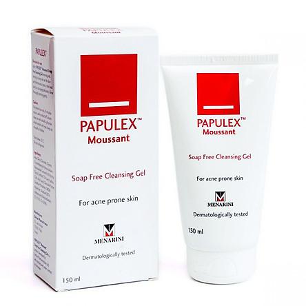 Papulex Sữa Rửa Mặt Papulex Ngăn Ngừa & Giảm Mụn Trứng Cá Moussant Soap Free Cleansing Gel 150ml