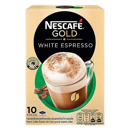 Cà Phê Hòa Tan Nescafé Gold White Espresso (10 x 25g)