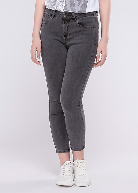 Quần Jeans Skinny Nữ Thời Trang A91 Jeans LW006 - WSKBSLW006GY - Xám