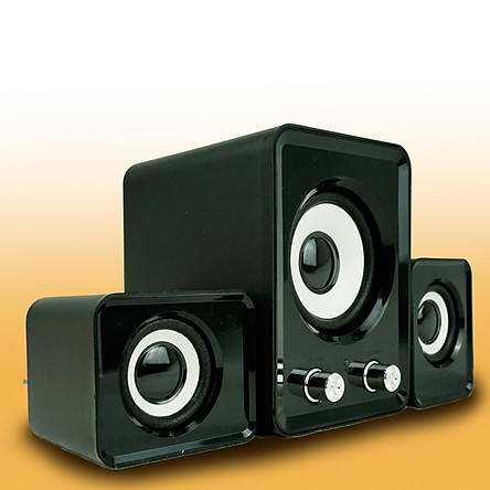 Loa vi tính 2N-202 âm thanh bass sống động bộ 3 loa PF6