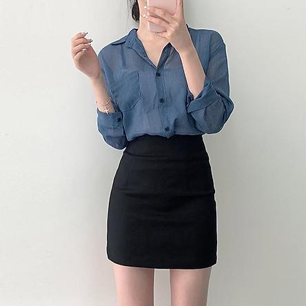 Chân váy nữ kiểu bút chì,Váy công sở chất đẹp