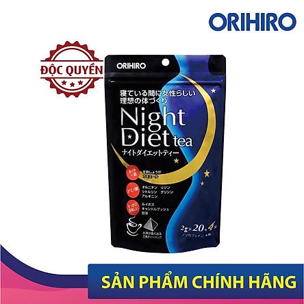 Trà Giảm Cân Orihiro Night Diet Tea (24 Gói)
