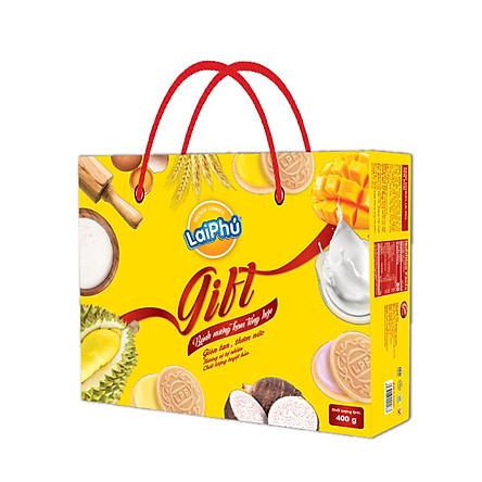 Bánh cookies Lai Phú vị tổng hợp 400g