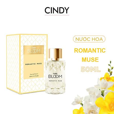 Nước hoa Cindy Bloom Romatic Muse 50ml chính hãng