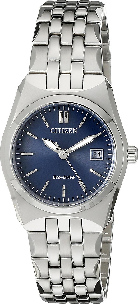 Citizen Women's Eco-Drive Stainless Steel Watch with Date, EW2290-54L