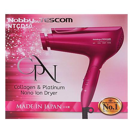 Máy Sấy Tóc Bổ Sung Platinum Collagen Và Nano Ion Tescom NTCD50 (CPN)