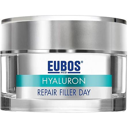 Kem Dưỡng Da Chống Nắng Ban Ngày Chống Lão Hóa SPF 20+ UVA  EUBOS Anti-age Hyaluron Repair Filler Day (50ml)