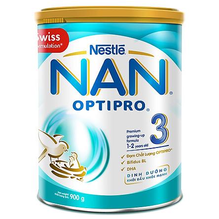 Sữa Bột Nestlé NAN Optipro 3 (900g)