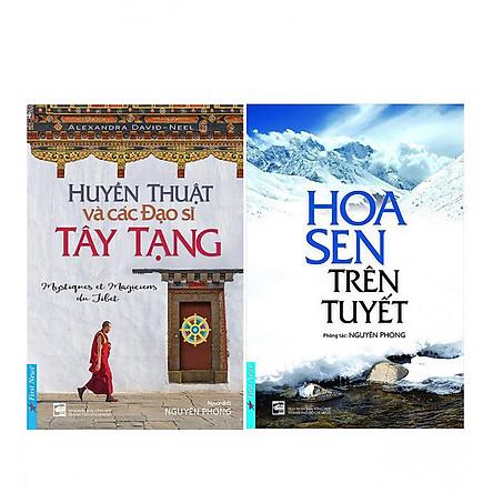 Combo Huyền Thuật Và Các Đạo Sĩ Tây Tạng +  Hoa Sen Trên Tuyết