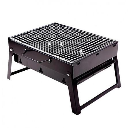 Bếp nướng than hoa không khói cao cấp dễ dàng gấp gọn mang đi – kích thước 28x35cm