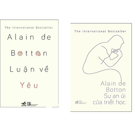 Combo 2 cuốn sách: Luận về yêu   + Sự an ủi của triết học