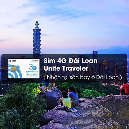 Sim 4G Đài Loan Unite Traveler (Nhận Tại Sân Bay Ở Đài Loan)