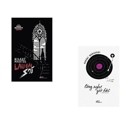 Combo 2 cuốn sách: Lắng nghe gió hát + Lâu đài sói