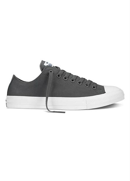 Giày Sneaker Unisex Converse Chuck Taylor All Star II Low - Gray/w