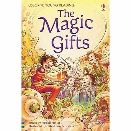 Sách thiếu nhi tiếng Anh - Usborne Young Reading Series One: The Magic Gifts