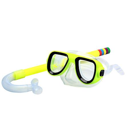 Kính bơi trẻ em 326 (Trẻ từ 3 -10 tuổi), mặt nạ lặn biển và ống thở trẻ em - POKI