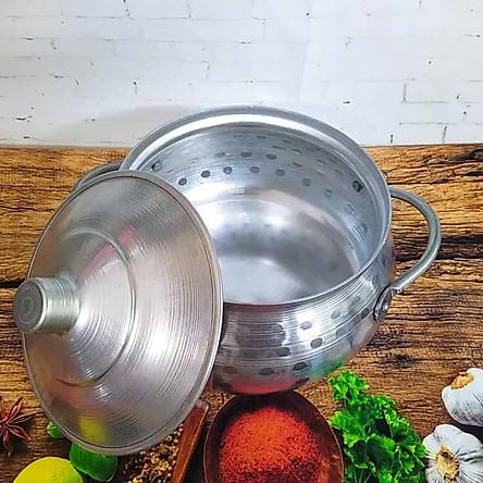 Nồi Lẩu BẦU THÁI mẫu MỚI SIÊU ĐẸP Size18. Lẩu NHÔM CỔ ĐIỂN. Dụng cụ bếp nấu lẩu được gò thủ công mang chất TRUYỀN THỐNG, dùng làm Lẩu Mắm, Tái, CUA ĐỒNG các món Soup. Chuyên DECOR cho các sự kiện món ăn ẨM THỰC VIỆT