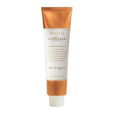Natio Wellness Hand Cream SPF 15+ 100ml