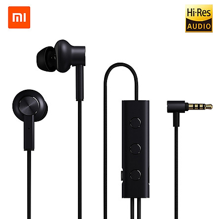 Xiaomi ANC Earphones Active Noise Cancelling Earbuds Sports Headsets 3.5mm In-Ear Mic Line Control Headphones for Xiaomi