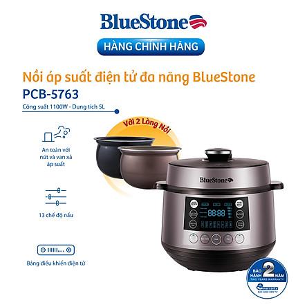Nồi Áp Suất Bluestone PCB-5763 (5L) - Hàng chính hãng