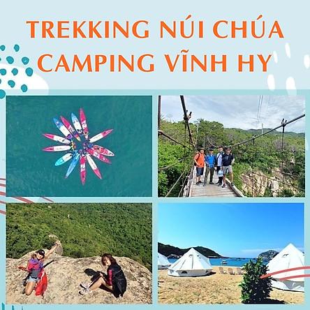 Tour 2N2Đ Sài Gòn - Núi Chúa - Vịnh Vĩnh Hy - Leo Núi Trekking 7Km - Suối Lồ Ồ - Cắm Trại Lalaland Camping Bên Biển, Khởi Hành Tối Thứ 6 Hàng Tuần