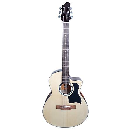Đàn Guitar Acoustic DG70VEJ - Màu Gỗ tự nhiên