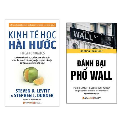 Combo Sách Kĩ Năng Kinh Doanh: Đánh Bại Phố Wall + Kinh tế học hài hước