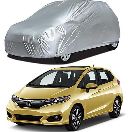 Bạt Phủ xe Ô Tô Honda Jazz, Vải Dù Siêu Bền Chắn Nắng Chất Vải Dù Siêu Bền Chống Mưa Nắng Bảo Vệ xe
