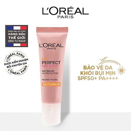 Kem chống nắng dưỡng da trắng sáng tức thì L'Oreal UV Perfect Instant White SPF50 PA++++ 15ml