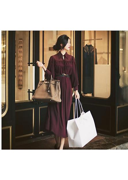 Váy Sơ Mi Suông V3908