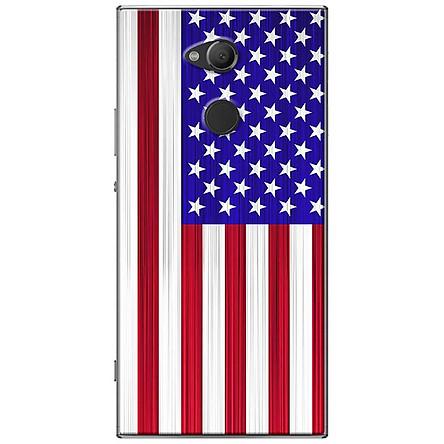 Ốp lưng dành cho  Sony Xperia XA2 Ultra  mẫu Lá cờ Mĩ