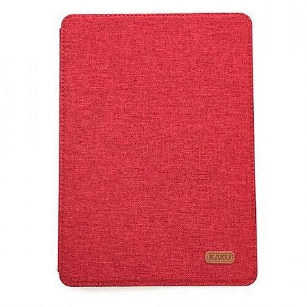 Bao da cho iPad Air 1 / Air 2 hiệu KAKU Kemi Canvas Pc Tpu - Hàng nhập khẩu