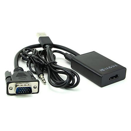 Bộ chuyển VGA to HDMI (Có Adapter)