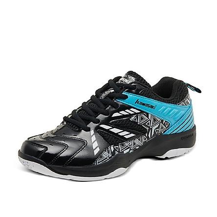 Giày thể thao nam nữ Kawasaki K080 mẫu mới, chống trơn trượt, giảm chấn hiệu quả, dành cho nam và nữ màu đen đủ size - Giày cầu lông chuyên dụng