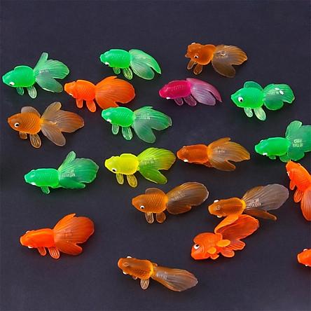 Bộ sưu tập 28 mô hình Cá Vàng đồ chơi vui nhộn