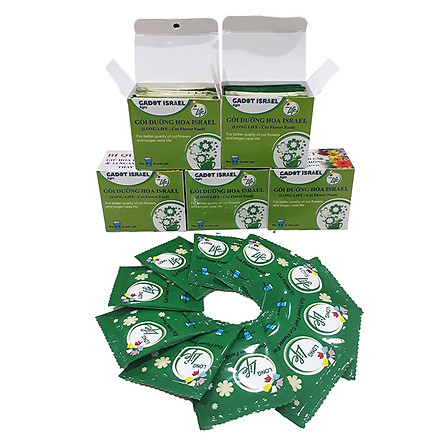 Combo 5 Hộp DINH DƯỠNG HOA CẮT CÀNH (Food for Cut Flowers)(1 hộp 10 gói 5gr). Giúp hoa cắt cành tươi lâu và 14 ngày không thay nước mới. Giải pháp tối ưu theo công nghệ Israel