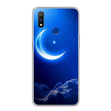Ốp lưng cho Realme 3 Pro - 0220 MOON01 - Silicone dẻo - Hàng Chính Hãng