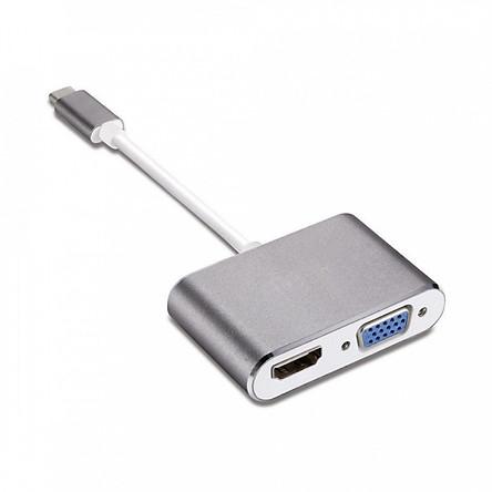 Bộ Chuyển đổi USB Type C sang HDMI và VGA