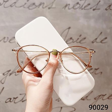 Gọng Kính Cận Moss Store Form Tròn Siêu Xinh 90029