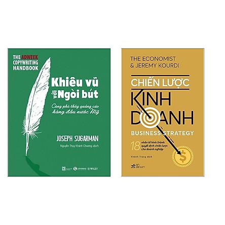 """Combo Sách Kinh Tế """"Hot"""": Chiến Lược Kinh Doanh + Khiêu Vũ Với Ngòi Bút (Bài Học Thành Công Cho Các Nhà Lãnh Đạo / Tặng Kèm Bookmark Green Life)"""